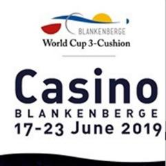 Worldcup 3 Cushions Blankenberge @ Casino Blankenberge | Blankenberge | Vlaanderen | België